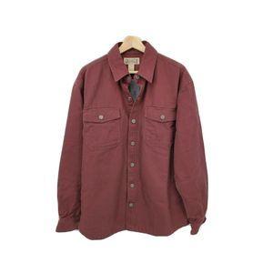 Duluth Hanger Bender Fire Hose Button Shirt Jacket